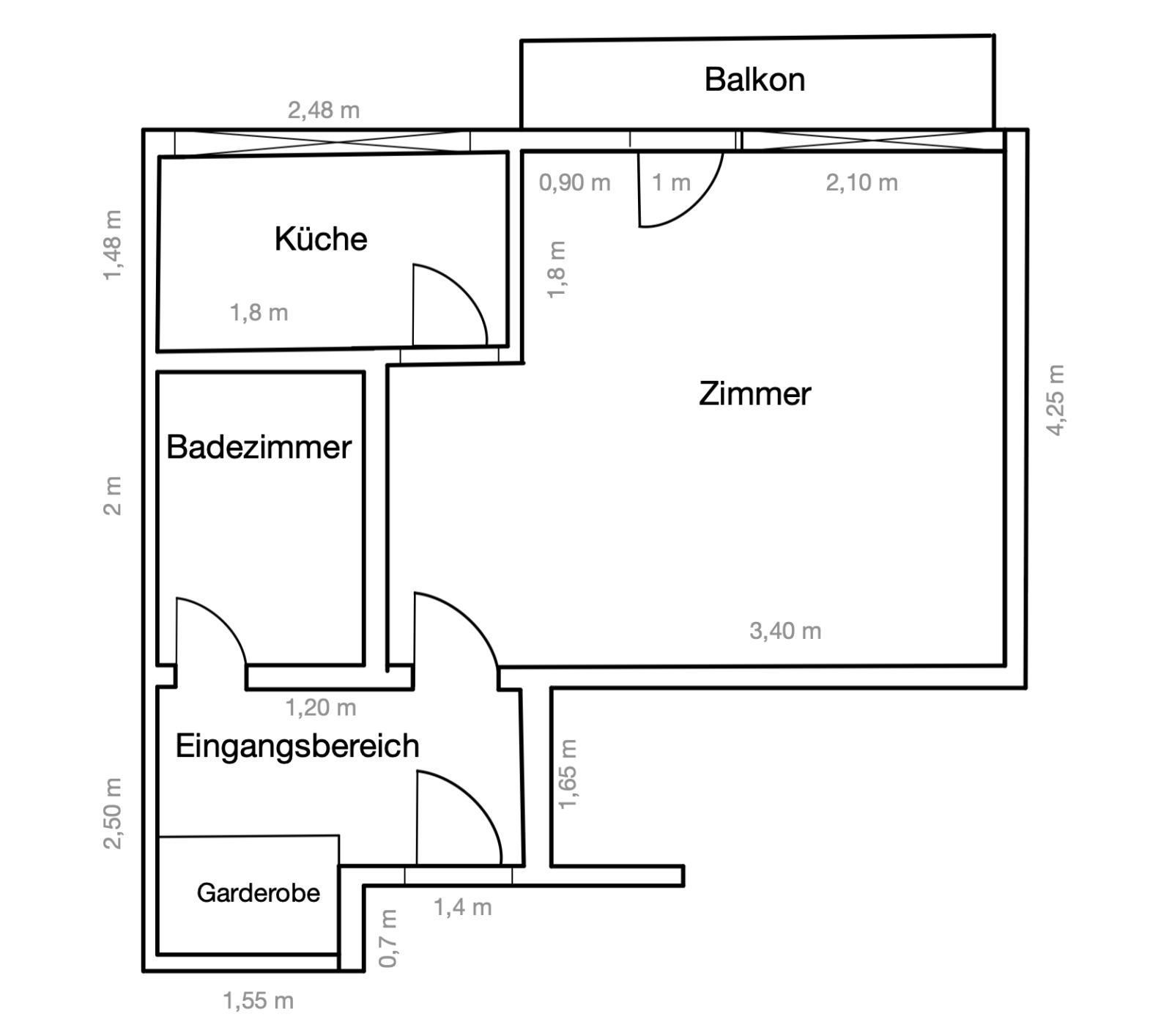 Grundriss   Wohnung kaufen – Nachodstrasse 1, 10779 Berlin