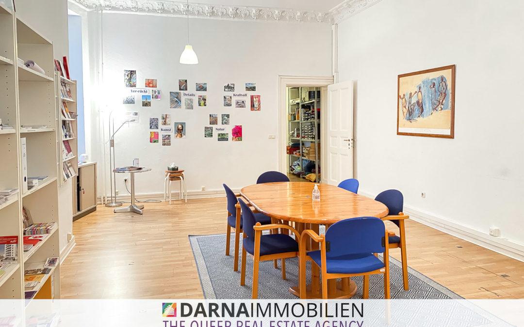 FINNI – Großzügige und atemberaubende Gewerbe Wohnung im wunderschönen Nollendorfkiez in Schöneberg!