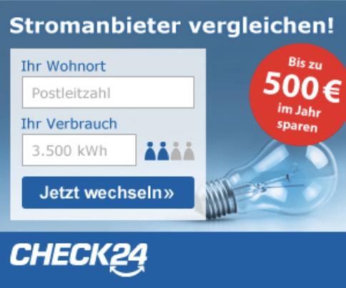 CHECK24 – Stromvergleich beim Testsieger Garantiert die günstigsten Tarife im besten Stromvergleich